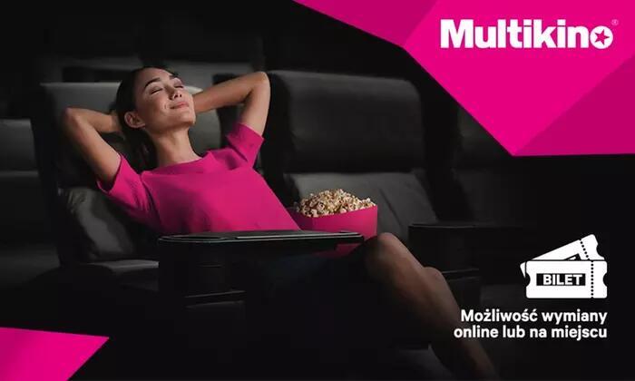 Bilety na filmowe Hity oraz filmy 2D/3D w kinach od 14,20zł @ Multikino