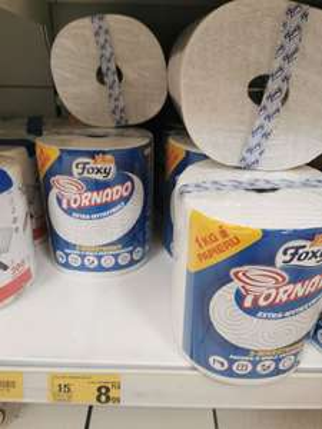 Foxy Tornado ręcznik papierowy Auchan