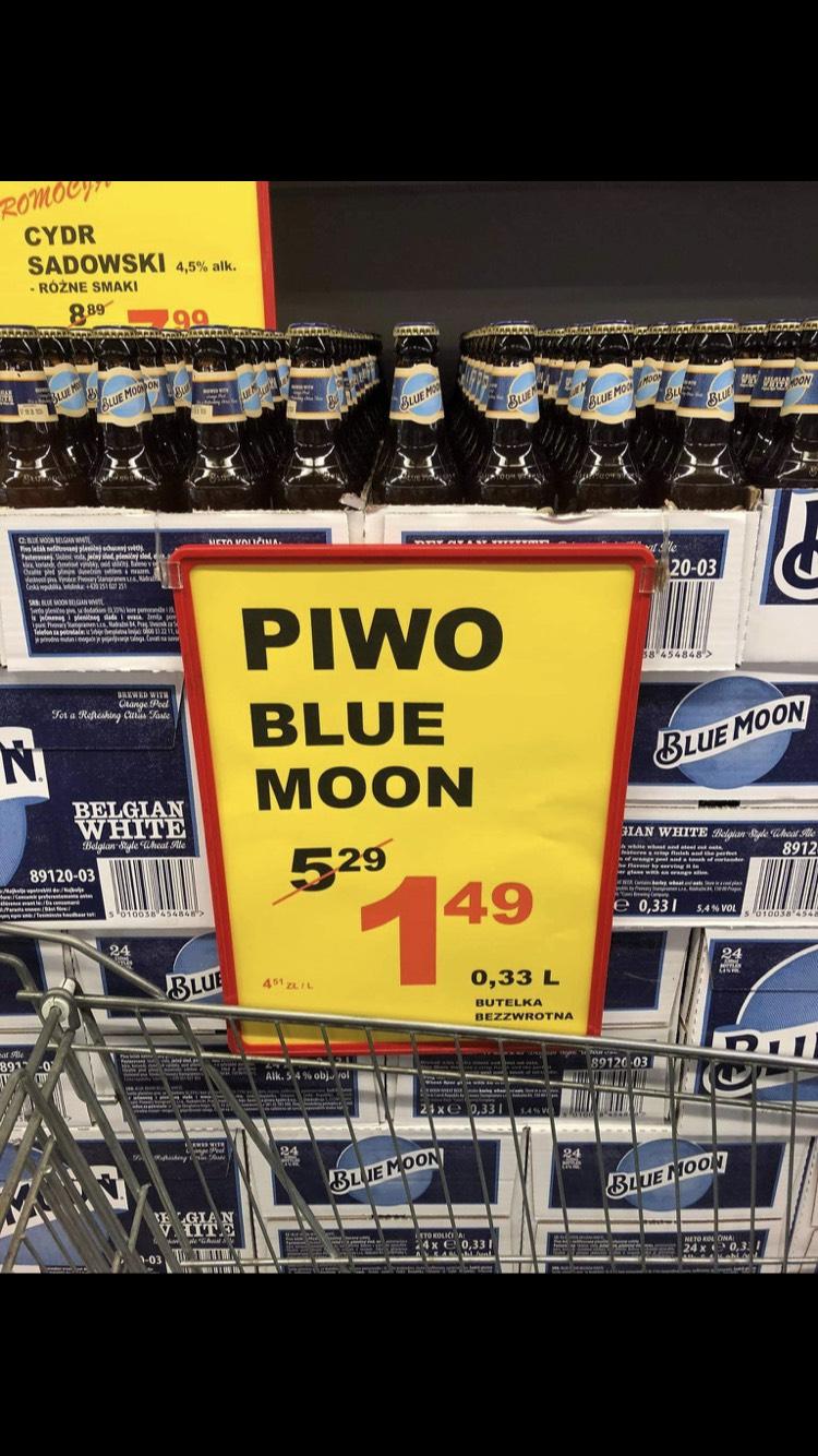 Piwo Blue Moon 0,33l