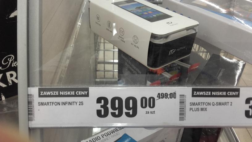 MyPhone infinity 2s Biedronka Lechicka 59 Poznań