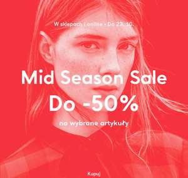 [Wyprzedaż] do 50% taniej (online i stacjonarnie) @ Mango