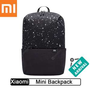 Plecak Xiaomi Backpack Mini 10L Starry Black za 6,99$ @ Gearbest