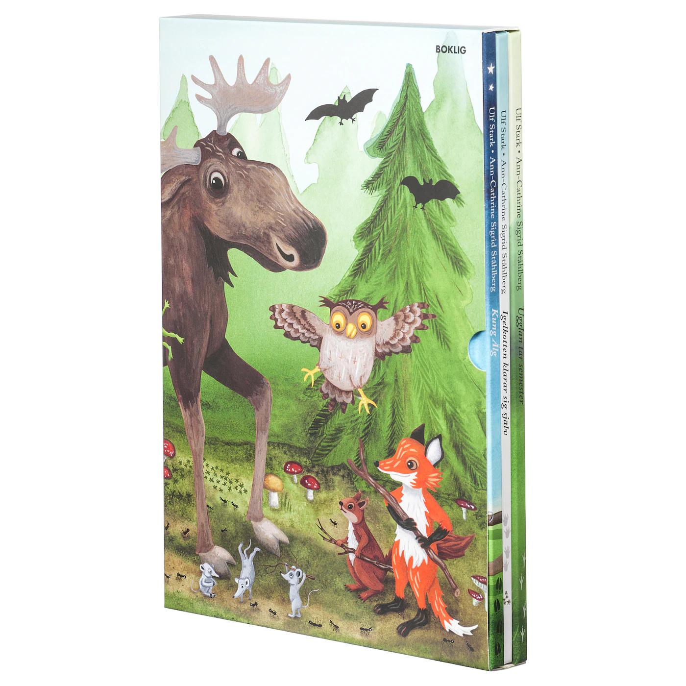 IKEA Zestaw 3 książek dla dzieci przeceniony z 69,99 zł na 9,99 zł