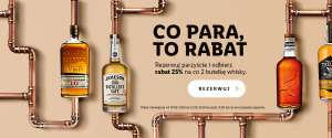 Whisky Rabat 25% na co drugą butelkę whisky w Winnica Lidla