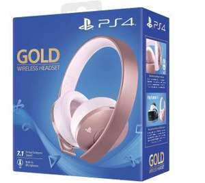 Sony PlayStation Wireless Headset Gold (różowe złoto) @Euro