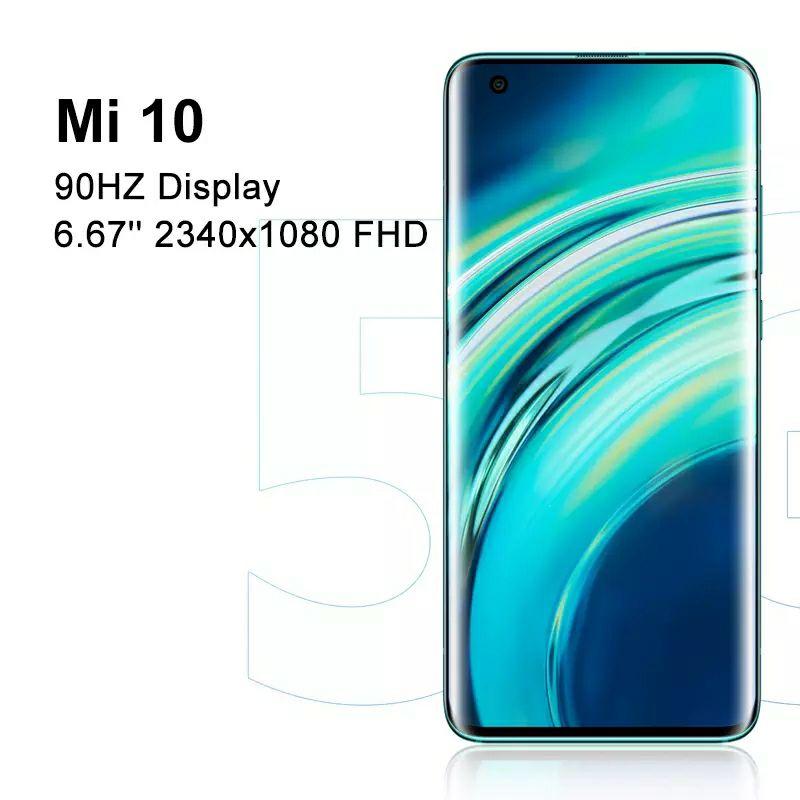 Xiaomi Mi 10, 8/128GB Grey, z Hiszpanii