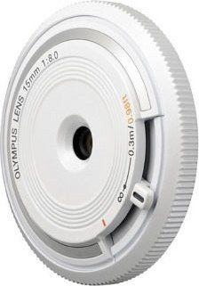 Olympus M.Zuiko digital 15mm 8.0 Body Cap obiektyw szerokokątny (V325010WE000), odbiór salon 0zł