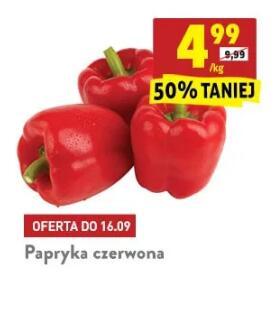 Papryka czerwona @Biedronka