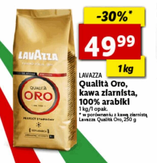 Lavazza Qualita Oro (ziarnista 1 kg)