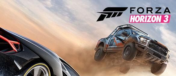 Cyfrowa Forza Horizon 3 i Gears of War 4 na XONE i PC 25% taniej @ Microsoft Store
