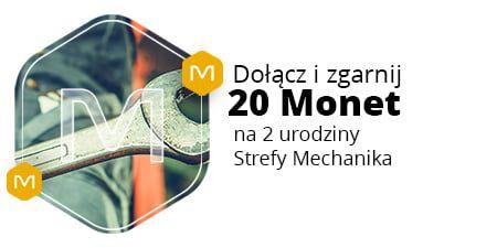 +20 Monetza udział i zakupy w Strefie Mechanika