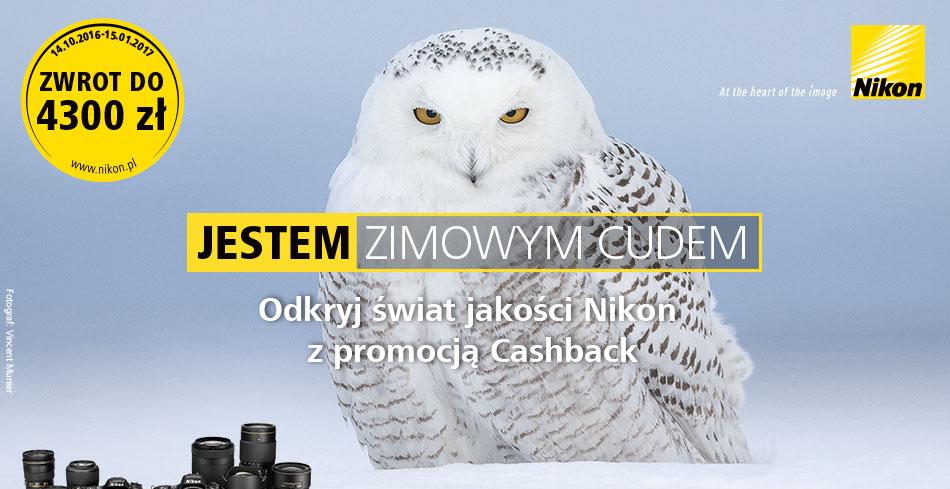 Nikon Cashback - zwrot do 4300 zł !!!