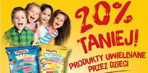 20% taniej produkty uwielbiane przez dzieci @Biedronka