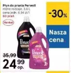 Płyn do prania Perwoll 3,6l Tesco możliwe 14,99 zł
