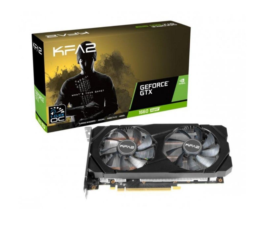 KFA2 GeForce GTX 1660 SUPER 1-Click OC 6GB GDDR6