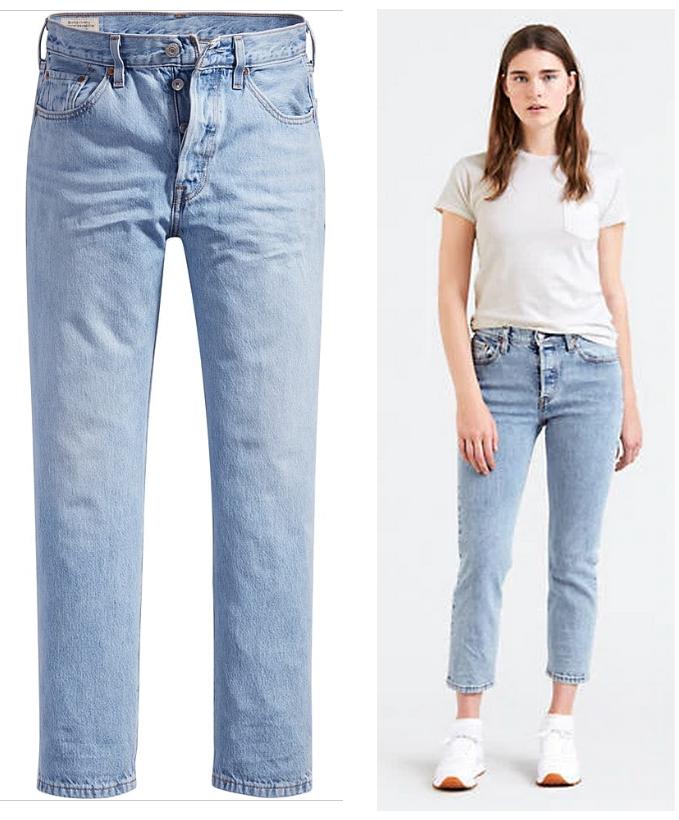 Markowe jeansy damskie w @Limango do 200 zł - Lee, Levi's