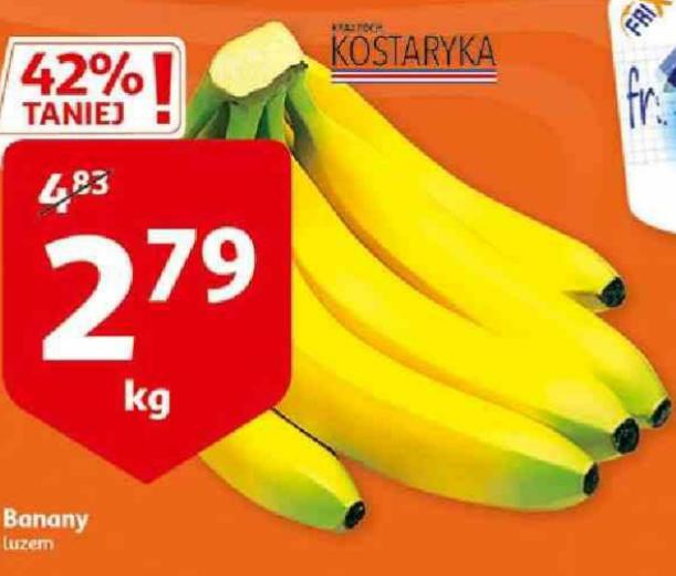 Banany, luzem 1kg. Auchan