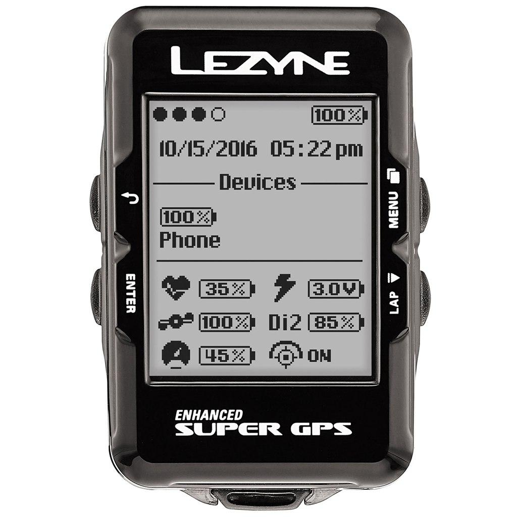 Lezyne Super GPS Komputer Licznik Rowerowy