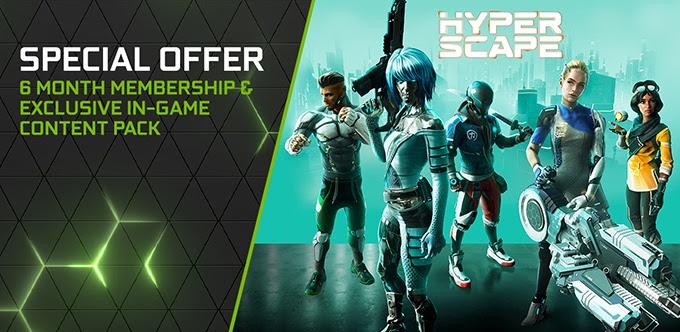 6 miesięcy Founders GeForce Now + Hyper Scape z bonusami