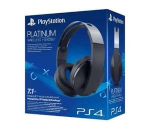 Sony PlayStation Wireless Platinum Headset EURO RTV AGD