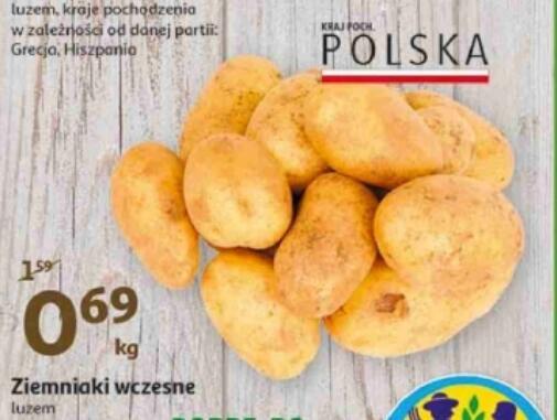 Ziemniaki wczesne @Auchan