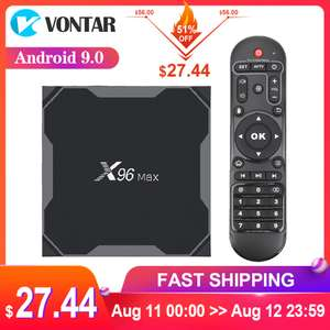TV Box Android X96Max Plus S905X3 4gb/64gb, 2.4G + 5.8GHz Dual Wifi, BT4.1