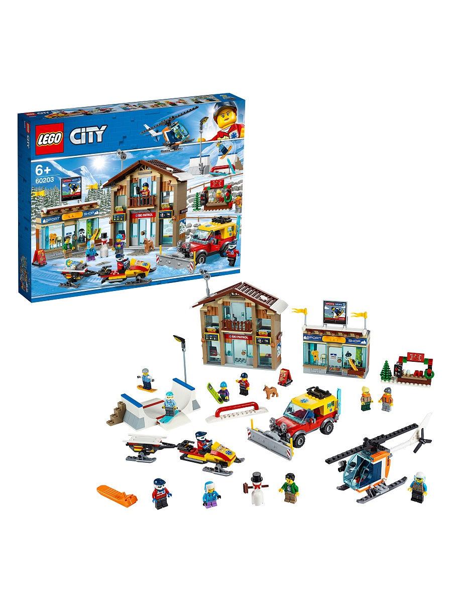 LEGO 60203 City - Kurort narciarski
