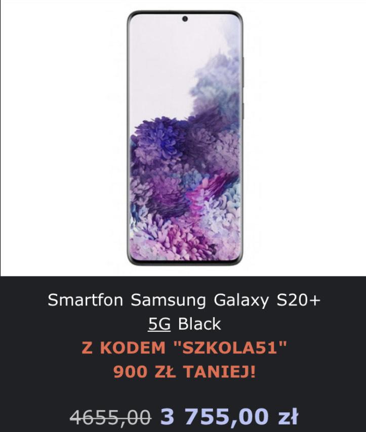 Smartfon Samsung Galaxy S20+ 5G