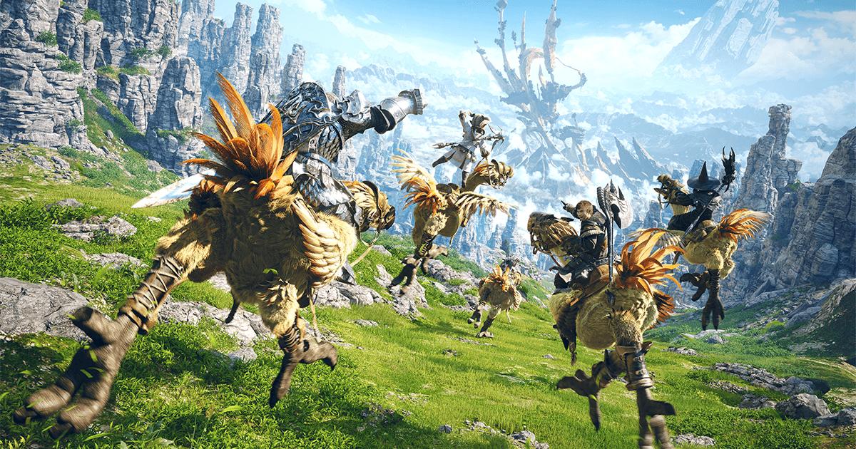 Final Fantasy XIV - A Realm Reborn + Heavensward Free (PS4 PC)