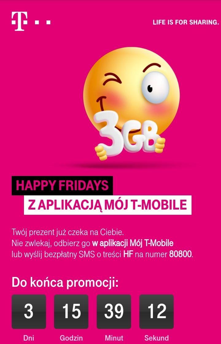 Ponownie darmowe 3 GB od T-Mobile