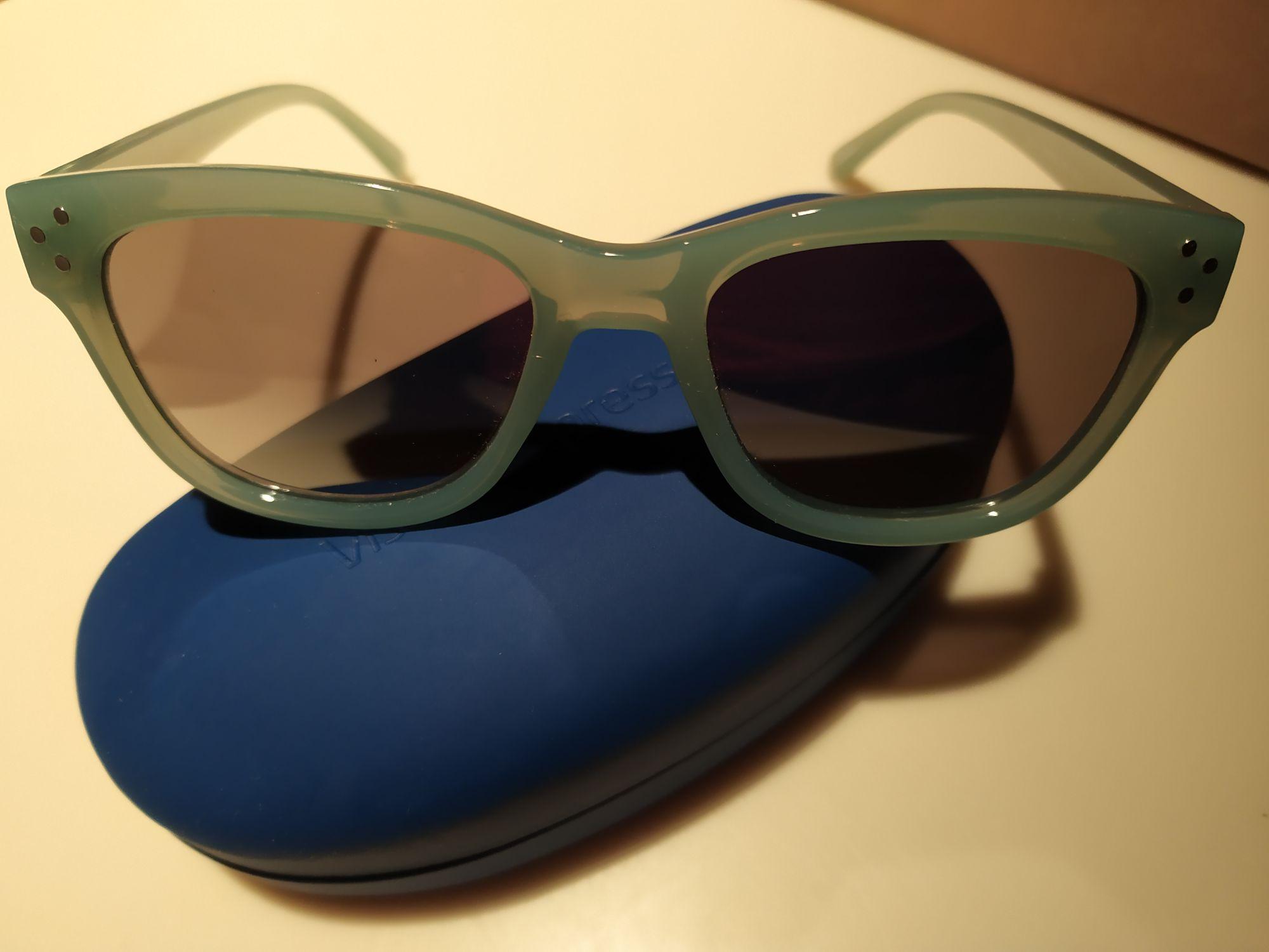 Okulary przeciwsłoneczne SEEN w Vision Express UV cat.3 + etui