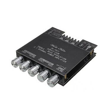 Miniaturowy wzmacniacz kolumnowy 2.1 ZK-TB21 TPA3116D2 BT 5.0 50WX2+100W - $16.99 + $2.5