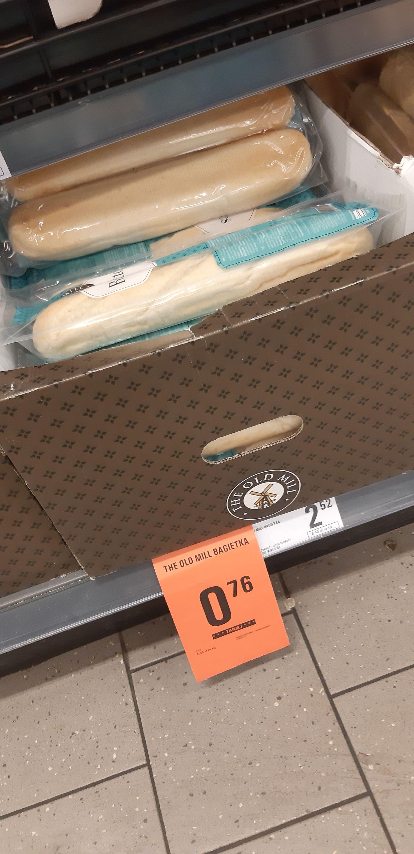 2x Bagietka do samodzielnego odpieku Netto Koszalin Os. Bukowe