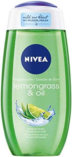 NIVEA pielęgnujący żel pod prysznic z trawą cytrynową i olejem (250 ml)