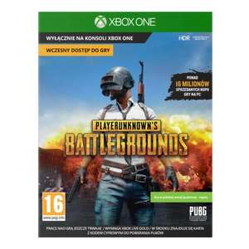 PlayerUnknown's Battlegrounds Gra XBOX ONE