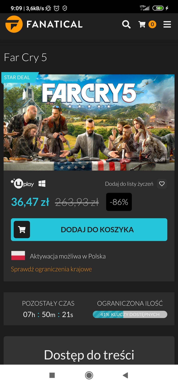 Far Cry 5 8,29 €