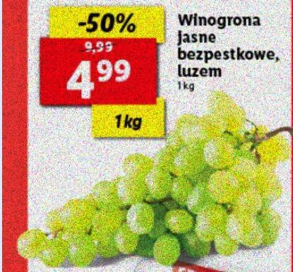 Winogrona jasne bezpestkowe @Lidl