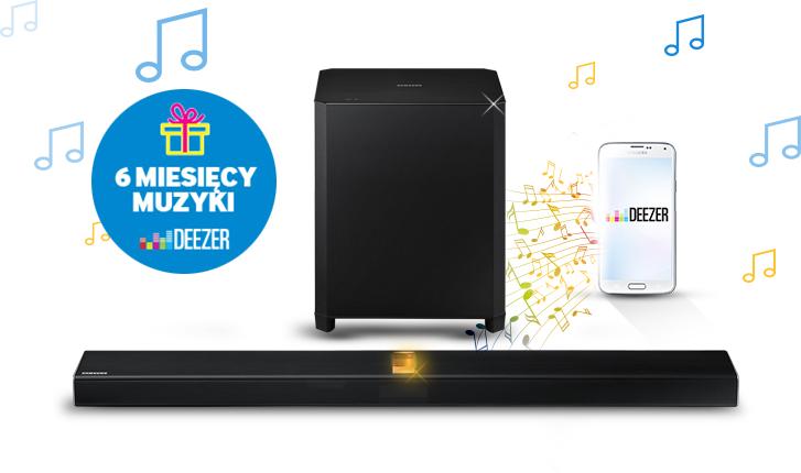 Bezpłatny dostęp do serwisu Deezer Premium + @ Samsung