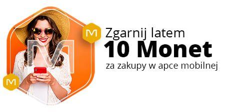Allegro, TYLKO DZIŚ+10 Monetza zakupy od 120 zł w aplikacji mobilnej allegro