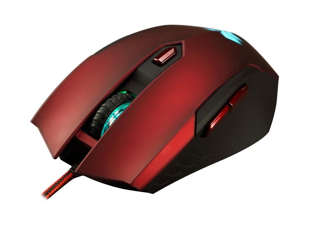 Mysz FlashFire EX-100 Acuter, przewodowa 4000dpi, o/os 0zł