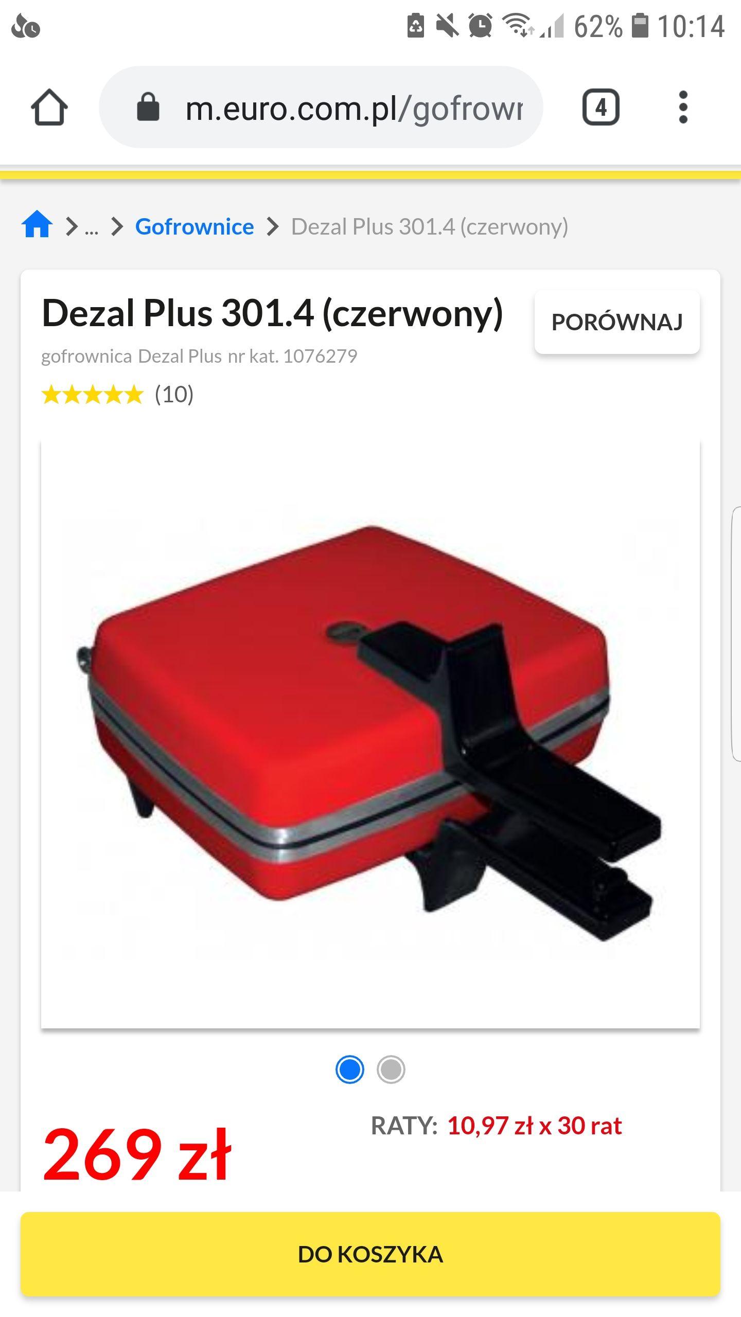 Gofrownica Dezal Plus 301'4