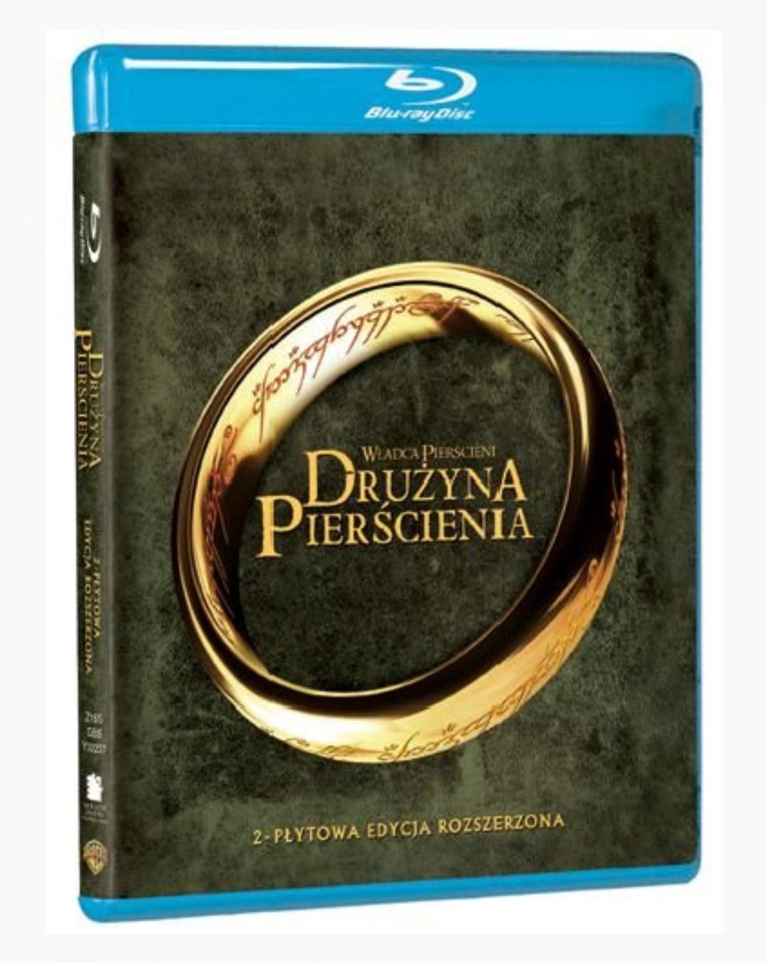 Blu-Ray Władca pierścieni: Drużyna pierścienia (edycja rozszerzona) + pozostałe części (Empik)