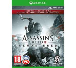 Assassins Creed III Remastered + Liberation Remastered Xbox One