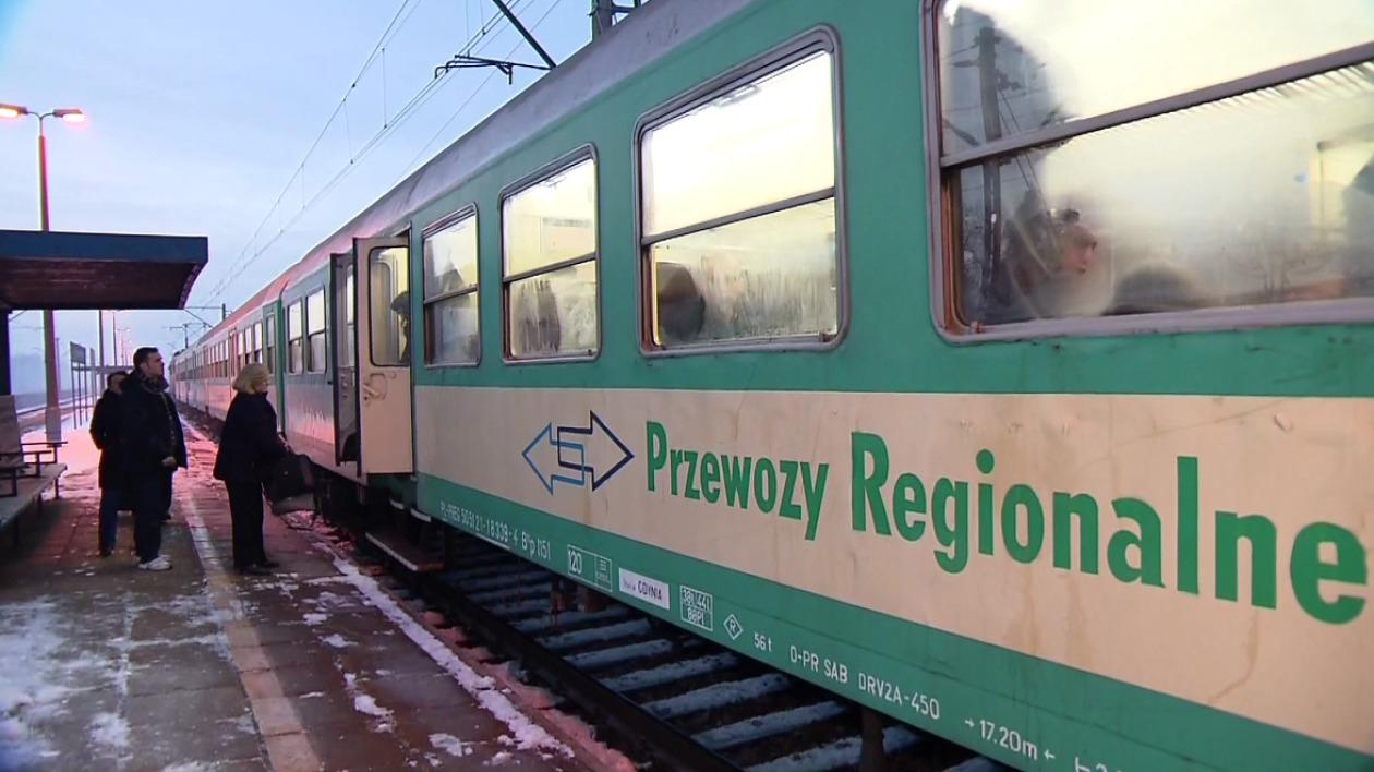 Bilety kolejowe na trasach do 35km za 1zł @ Przewozy Regionalne