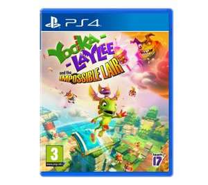 RTYeuroAGD Yooka-Laylee and the Impossible Lair PS4 Playstation 4.
