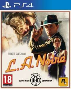 L.A. Noire na PlayStation 4