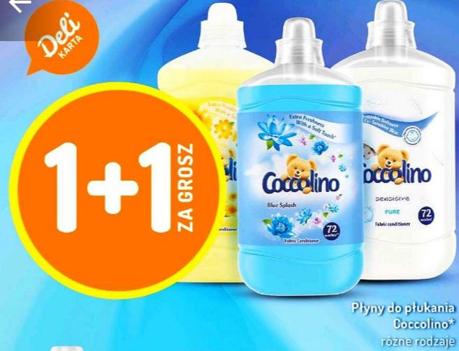 Płyn do płukania COCCOLINO 1,8L 1+1 ZA GROSZ. Delikatesy Centrum
