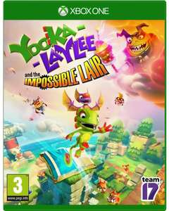 Yooka-Laylee and the Impossible Lair XBOX ONE / PC / PS4