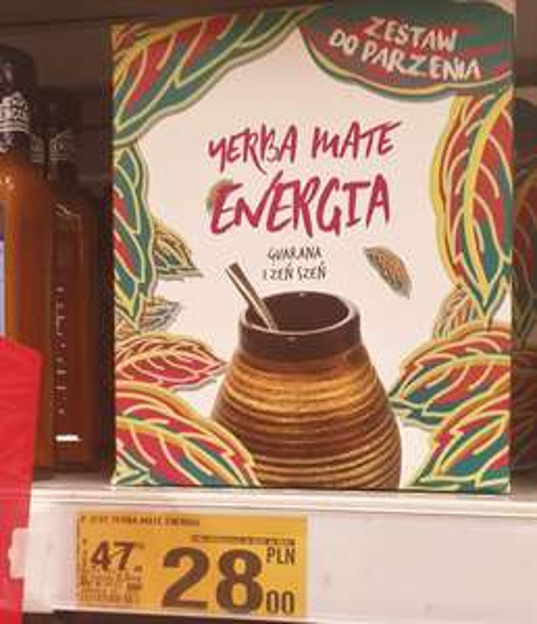 Zestaw Energia 150g+bombilla +naczynie - Auchan Komorniki