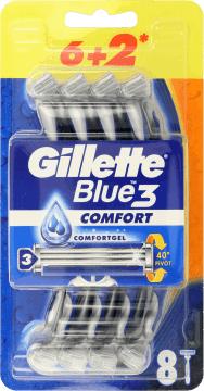 Gillette Blue 3 Comfort 8 szt.